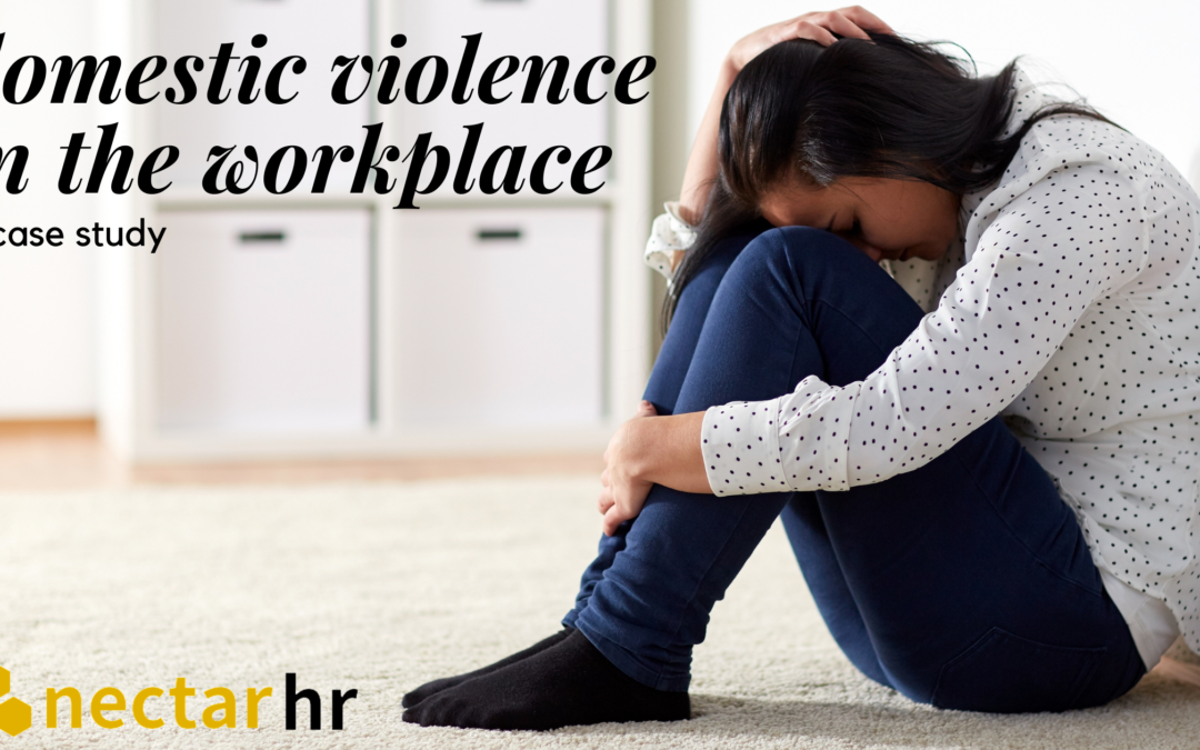 Domestic abuse in the workplace: a case study.