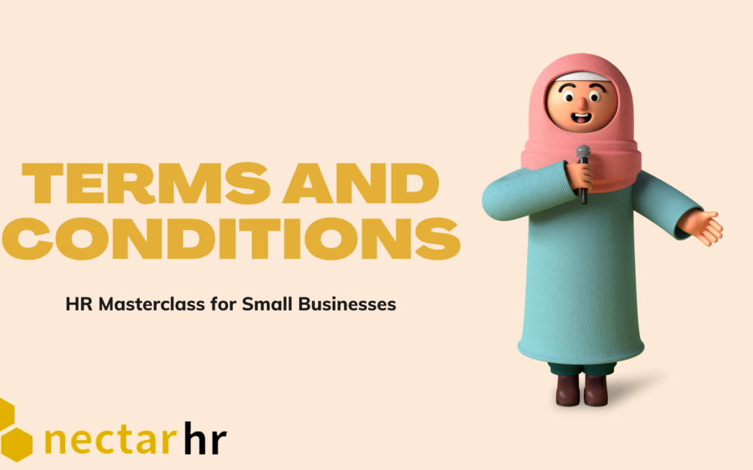 HR Masterclass for Small Businesses: Terms and Conditions