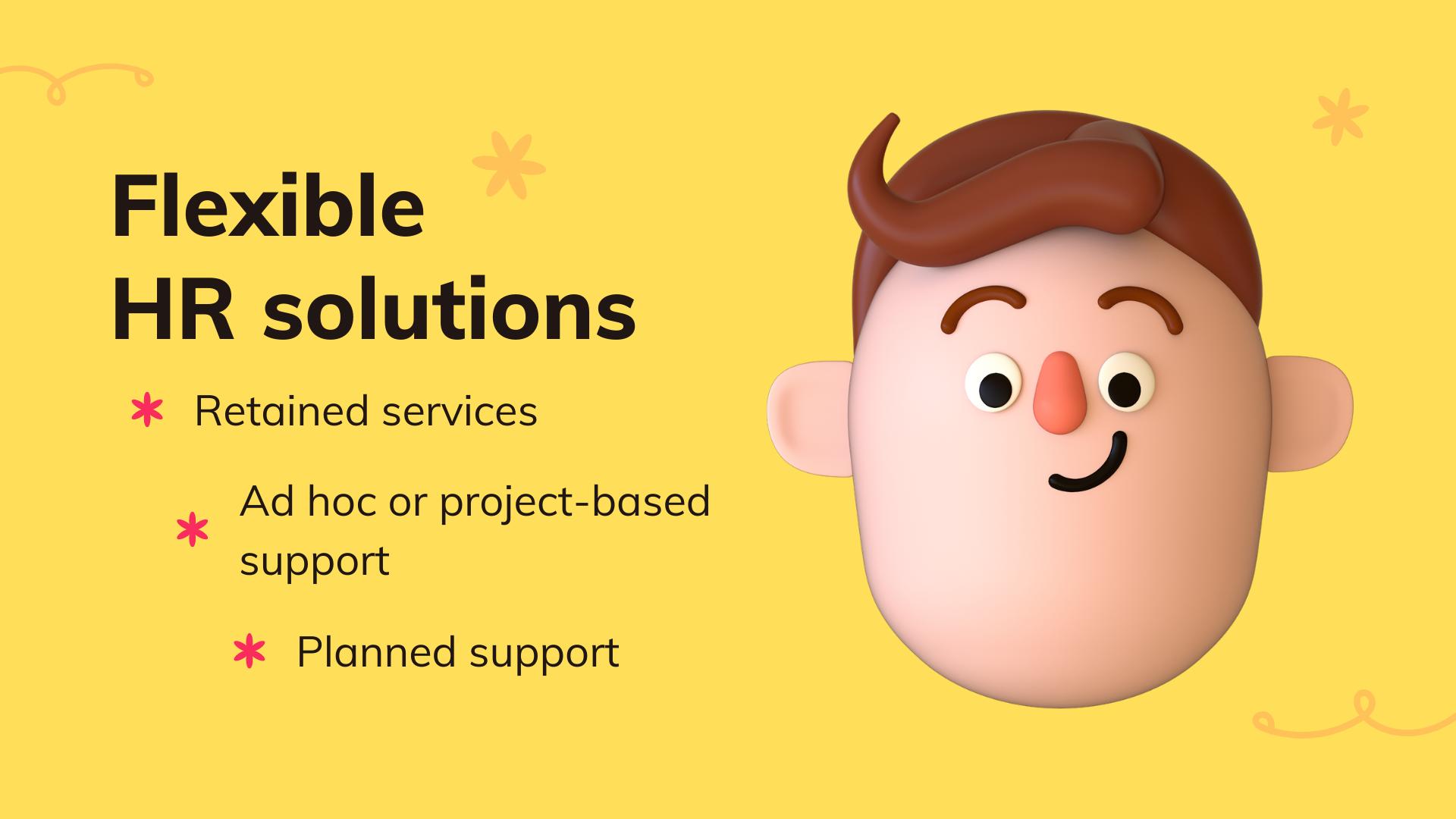 Flexible HR solutions