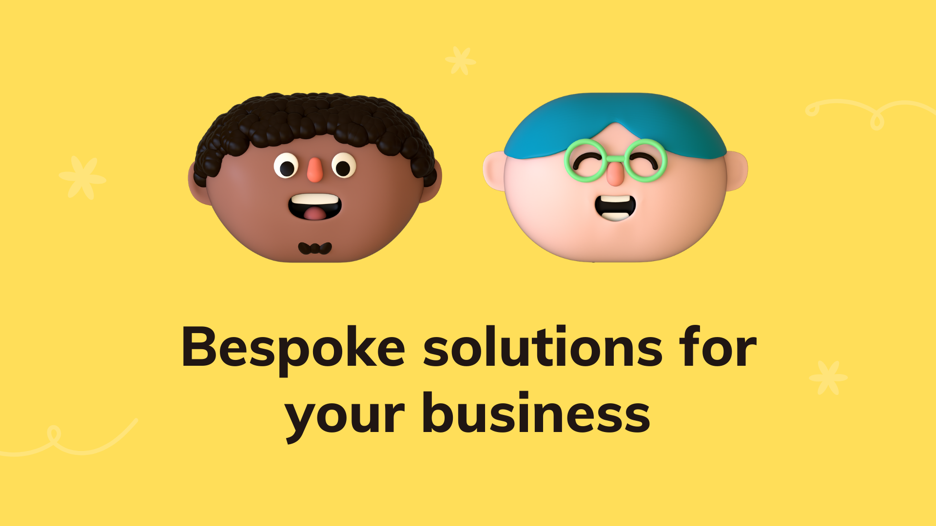 Bespoke solutions for your business