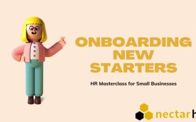 HR Masterclass for Small Businesses: Onboarding New Starters
